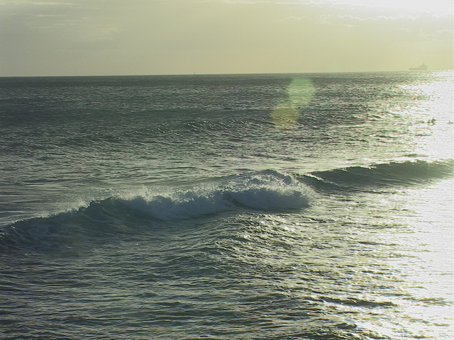 I really dig this photo, it was taken off the shores of Oahu where I have many memories of good times and good friends.